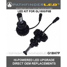 G18H7P GL1800/F6B LED High or Low Beam Headlight Kit (pr)