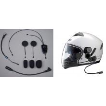 Elite Integrated Helmet Headset w/HO AeroMike® V - Nolan® N103/N90/N43