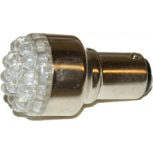 1157 LED White Replacement Bulb Running and Brake
