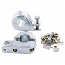 Custom Chrome 1 inch Male Foot Peg Clamp