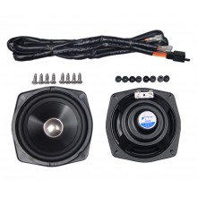 GL1800 Performance Rear Speaker Kit w/Wire Harness