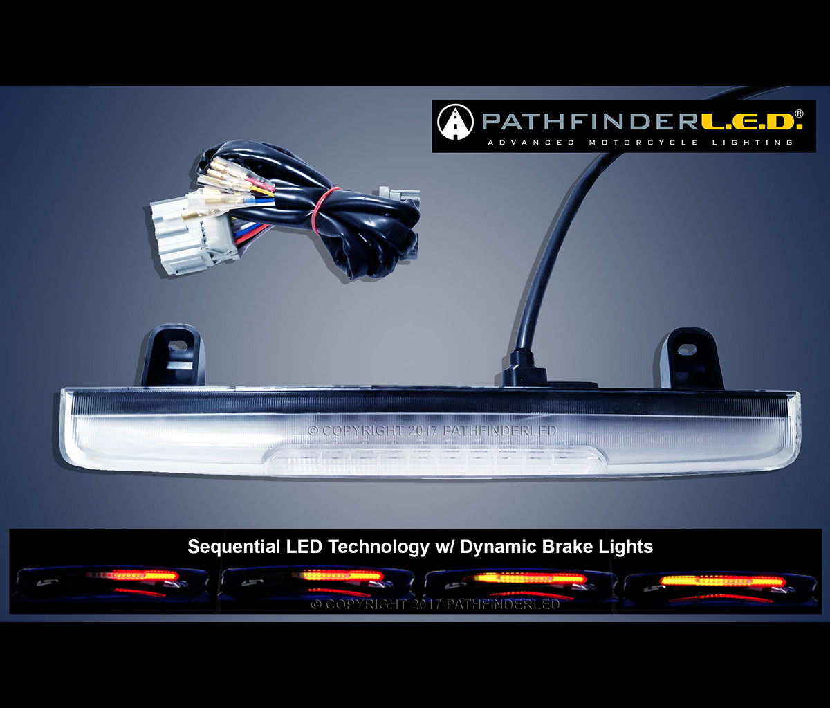 Customer Login Motorcycle Wiring Products Gl1800 12 17 Sequential Led Spoiler Light W Dynamic Br